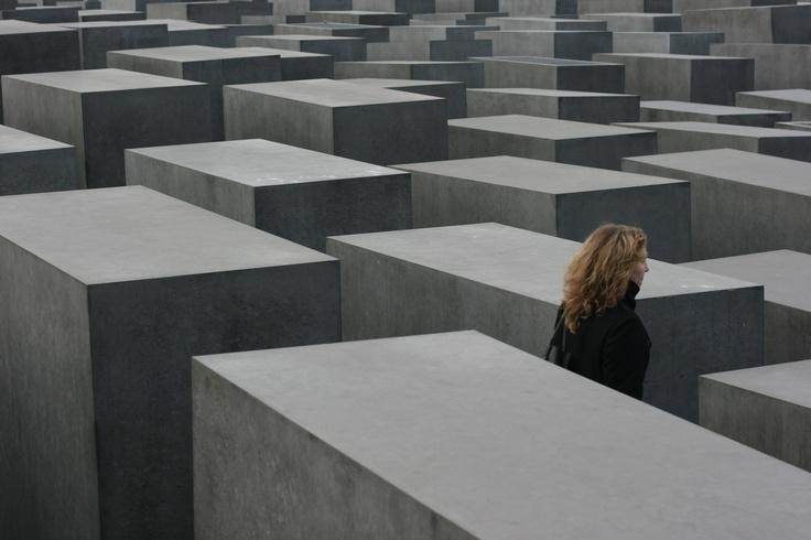 Mémorial des juifs d'Europe à Berlin — novembre 2008