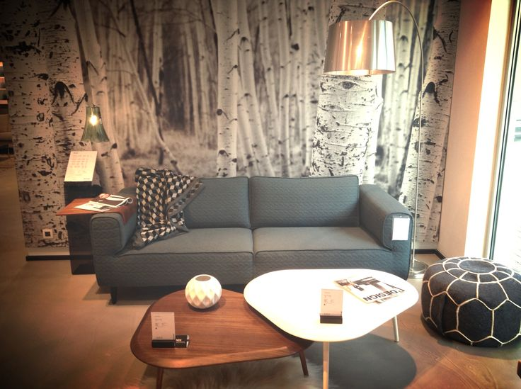 BoConcept Arco Sofa With 3800 3810 Coffee Tables