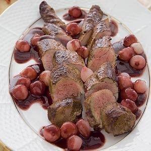 Hazenrugfilet in rodewijnsaus recept - Vlees - Eten Gerechten - Recepten Vandaag