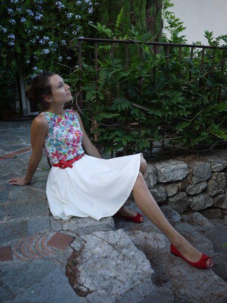Ruby dress aquarelle
