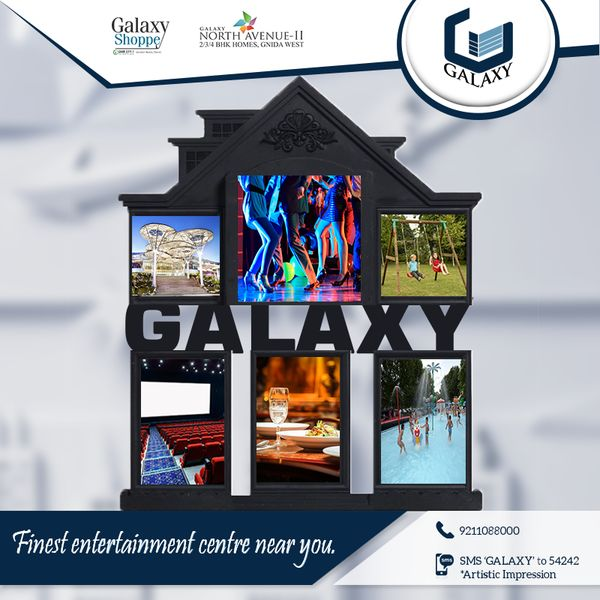 Stay in #GalaxyNorthAvenueII and fulfil all your entertainment needs at #GalaxyShoppe.#TheGalaxyGroup #ThankfulThursday #GalaxyDiamondPlaza #GalaxyBlueSapphire #LuxuriousResidential #GalaxyVega #GalaxyApartment #CommercialProject #ResidentialProject
