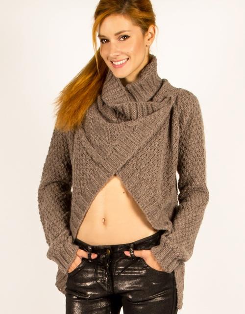 Asymmetrical knit cardigan. #toimoifashion #fashion #knit #casual