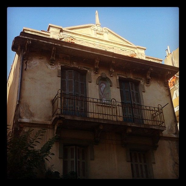 A beautiful old house of the Papafi district. (Walking Thessaloniki, Route 14 - Papafi)