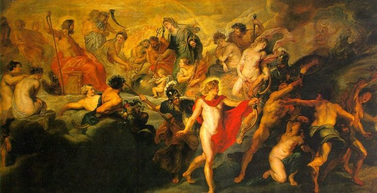 The Council of the Gods via Peter Paul Rubens    Medium: oil, canvas