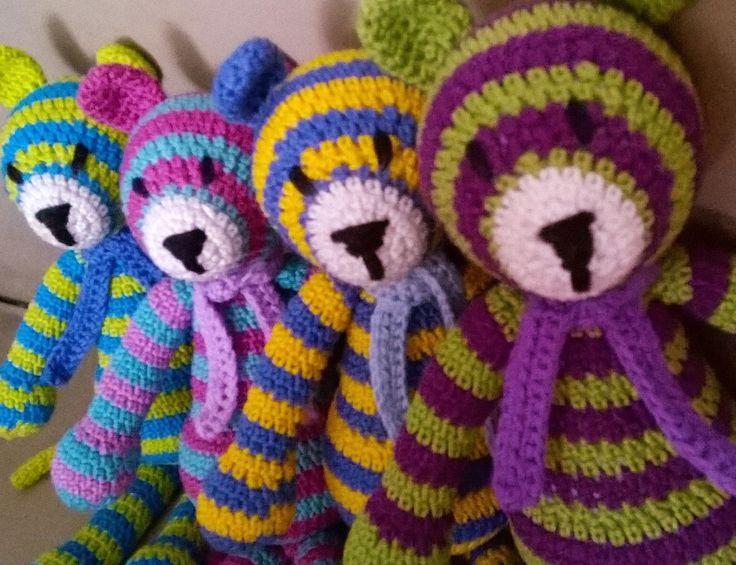 Tigriskölykök, Amigurumitiger, crochettiger