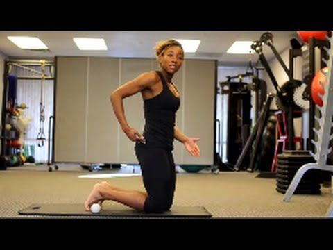 Self Treatment For Lower Back Pain- Gluteus Medius Myofascial Release Te...