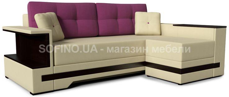 Диван Марсель-Пуф - модификация одноименной прямой модели. Удобные подушки, оригинальный дизайн и вместительный короб подарят Вам комфортный отдых и сделают гостиную еще уютнее!