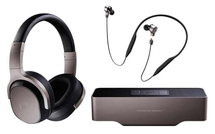Porsche Design Sound is a new line of co-branded mobile audio gear created with British hi-fi brand, KEF