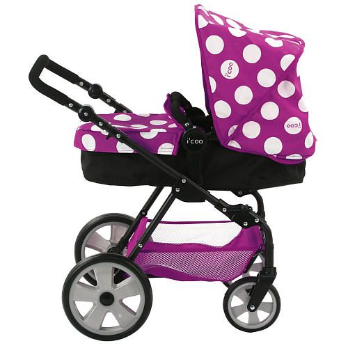 Icoo Grow With Me Doll Playset With Stroller Amp High Chair Hauck Ltd