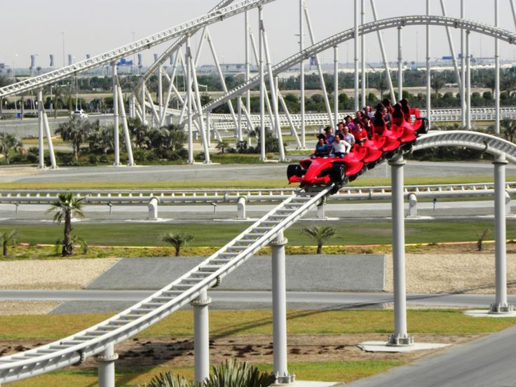 formula rossa coaster video | ... : Formula Rossa, the fastest roller coaster in the world, Abu Dhabi