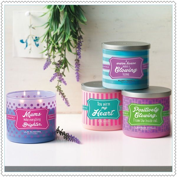 "Yankee Candles 2 Meches ""Sentiments"""