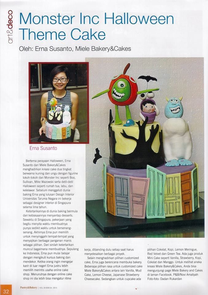 Thank you pastry & bakery magazine for having me in your edition. Im so honored