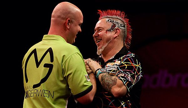 MVG and Peter Wright