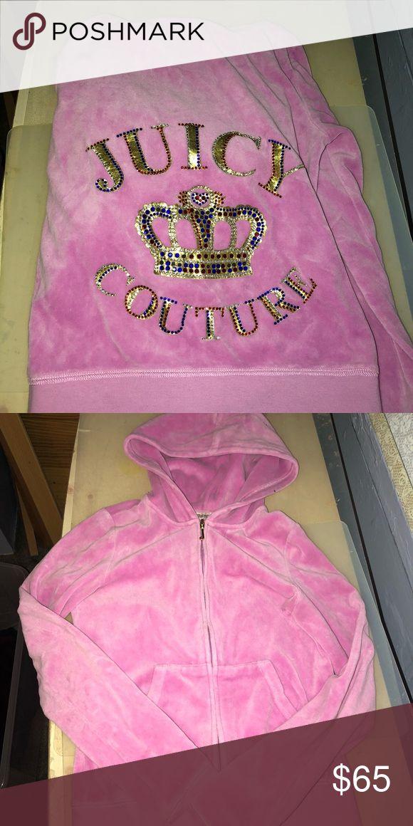 Juicy couture jacket Pink juicy couture jacket Juicy Couture Tops Sweatshirts & Hoodies