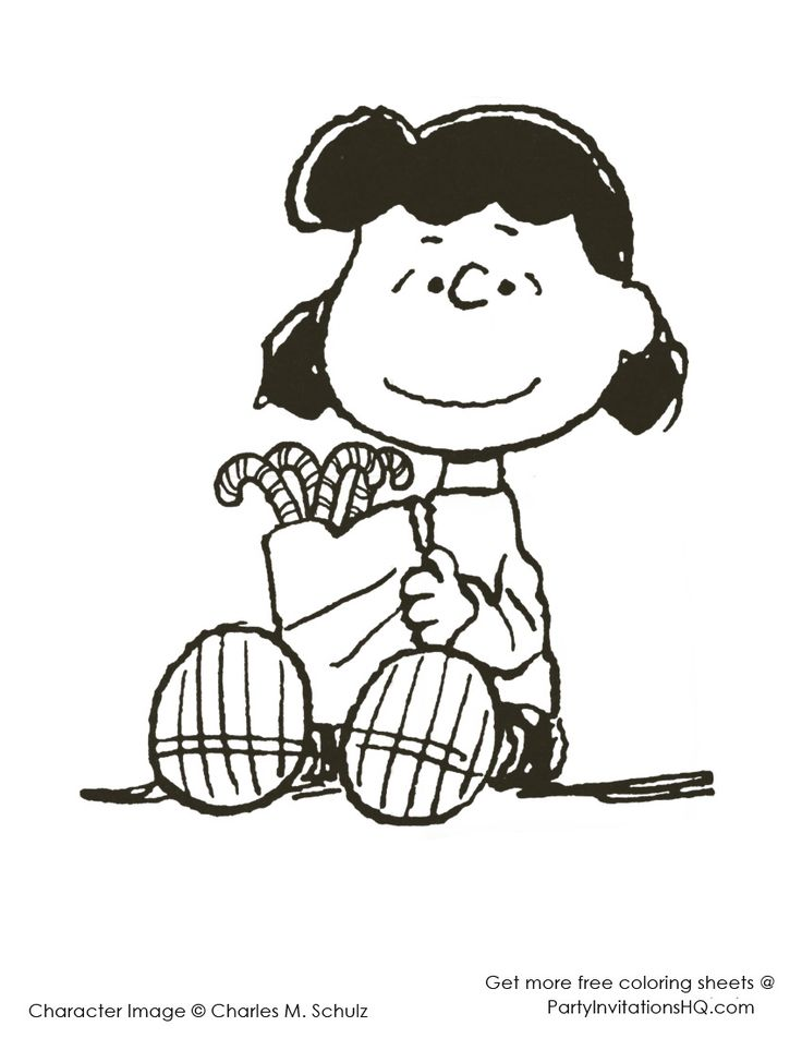 Charlie Brown Christmas Coloring Pages   charlie-brown-christmas-coloring-pages-2