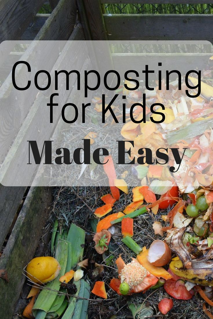 easy ways to teach kids to compost composting and gardens. Black Bedroom Furniture Sets. Home Design Ideas