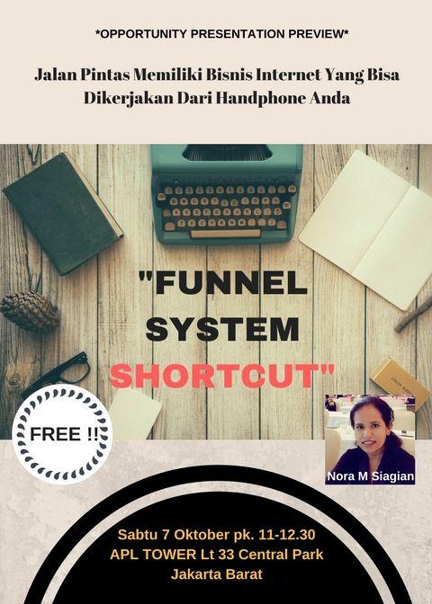 Info Gratis Workshop Funnel System Shortcut 08158165028