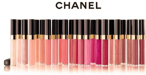 Favorite lipgloss, and I want all of these Chanel lip glosses. No, I need them!