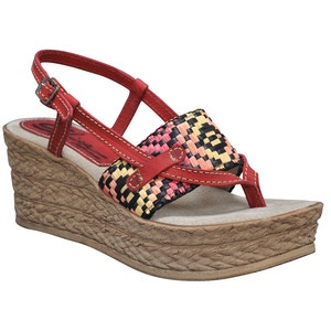 Mystical Wedge Red, $59, now featured on Fab.