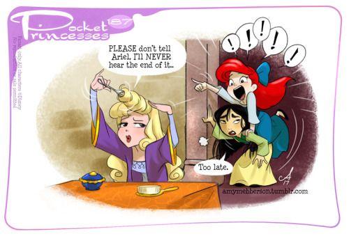 Pocket Princesses 187: Life HacksPlease reblog, do not repost,...