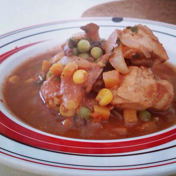 Chicken Vegetables Stew
