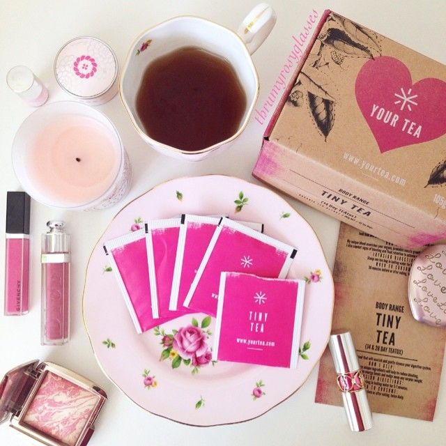 "@thrumyrosyglasses ""Getting myself swimsuit ready by going on a Tiny Tea Detox! Enjoying a cuppa @tinyteatox while getting ready this morning. Be good to yourself, get your 14-day or 28-day set from @yourtea emoji #yourtea #tinytea #teatox #tea #makeup #goodmorning #onthetable "" Available at www.yourtea.com"