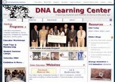 DNA Learning Center es una web con numerosos recursos sobre Genética y Biotecnología divididos en 21 sitios con contenidos y herramientas de aprendizaje como: DNA from the Beginning ; Your Genes, Your Health ; Biology Animation Library, etc.