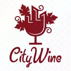 Exclusive Customizable Logo For Sale: City Wine | StockLogos.com https://stocklogos.com/logo/city-wine-2