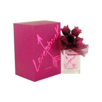 Vera Wang Lovestruck is een bloemig parfum met topnoten van guave, engelwortel en mandarijn, hartnoten van lotus en tuberoos en basisnoten van houtsoorten en muskus