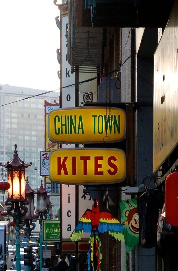 China Town Kites San Francisco Chinatown