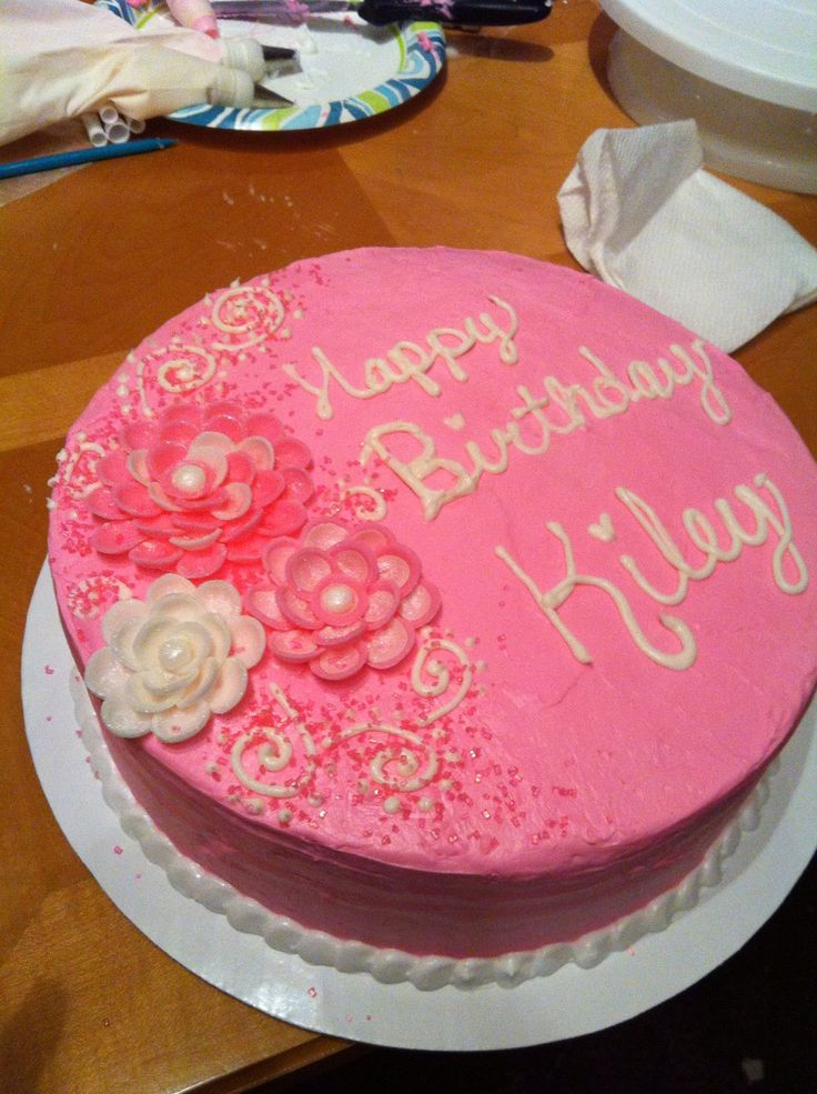 Small Birthday Cake Design : 17 Best ideas about Small Birthday Cakes on Pinterest ...