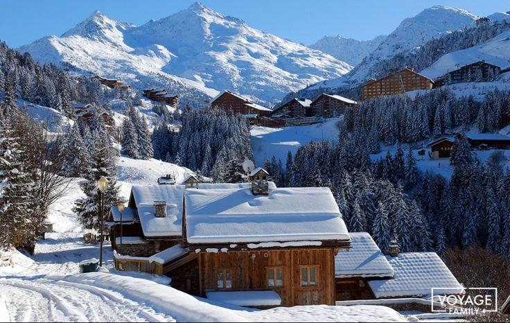 station de ski familiale en savoie : méribl mottaret