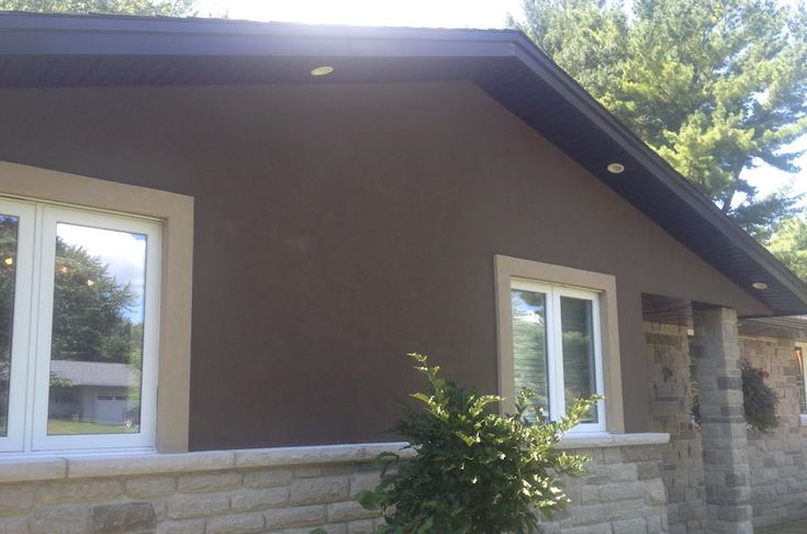 Image Result For Brown Soffit And Fascia Exterior House