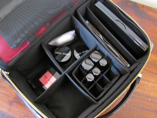 inside the Bobbi Brown Deluxe Travel Kit