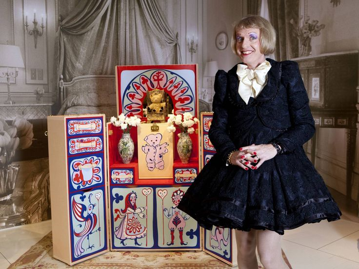Grayson Perry: A very modern cross-dressing artist, about to give the Reith lectures on BBC Radio 4.