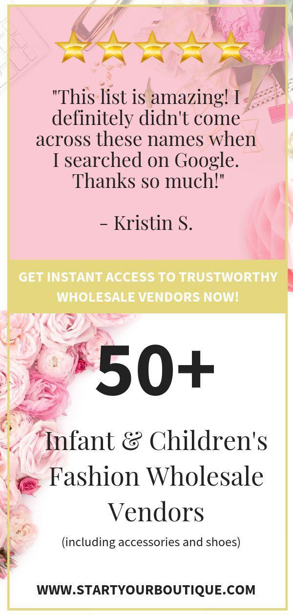 22894c9d39 wholesale children's clothing, accessories and shoe vendors for ...