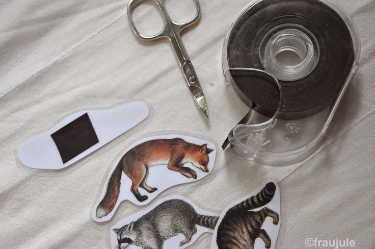 Kühlschrank Magnete selber machen