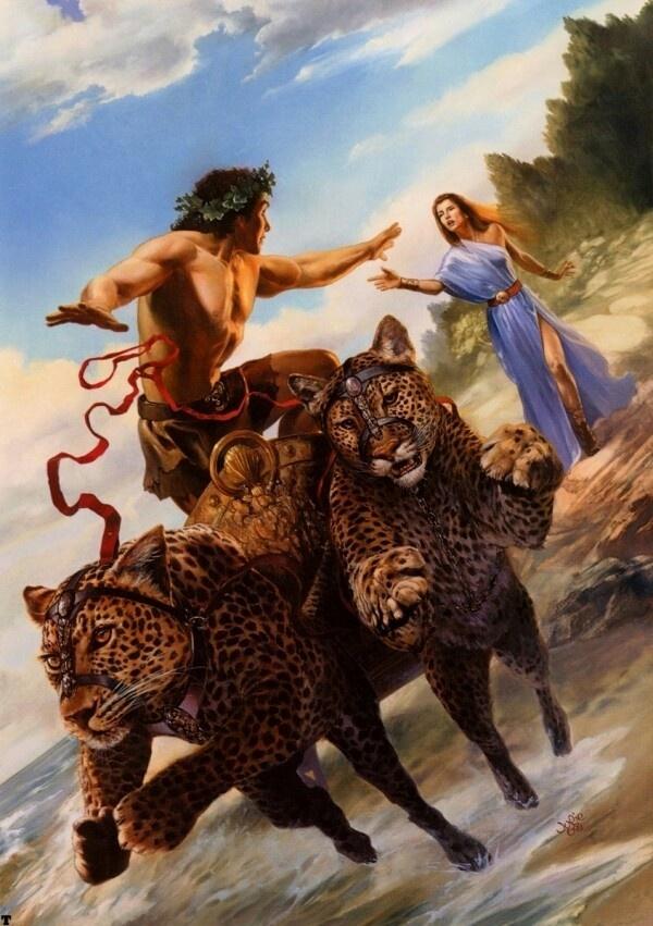 34 Best Dionysusbacchus Images On Pinterest Bacchus Greek Gods