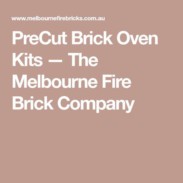 PreCut Brick Oven Kits — The Melbourne Fire Brick Company