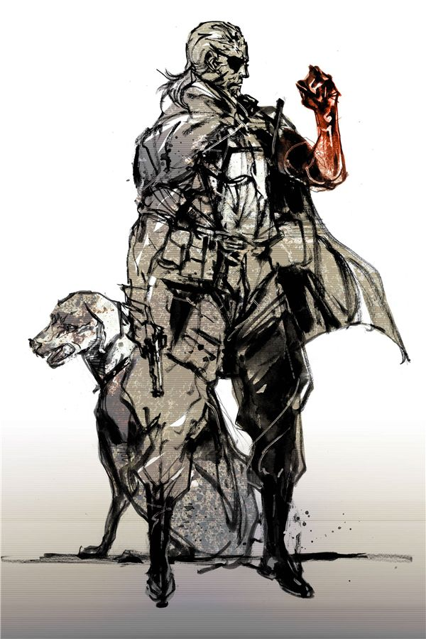 Пользовательские Холст Art Metal Gear Solid Poster Metal Gear Solid V Стены Наклейки Змея Лиса Игра Обои Новогоднее Украшение #593 #