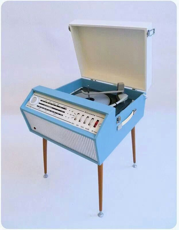 1960 39 S Dansette Record Player Turntables Pinterest