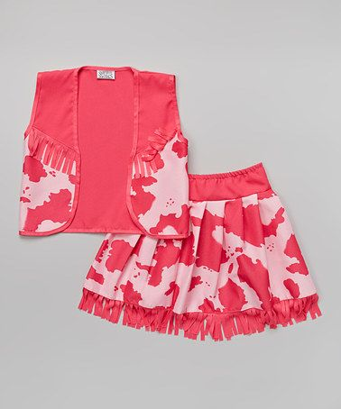 Love this Pink Classic Cowgirl Dress-Up Set - Toddler & Girls on #zulily! #zulilyfinds