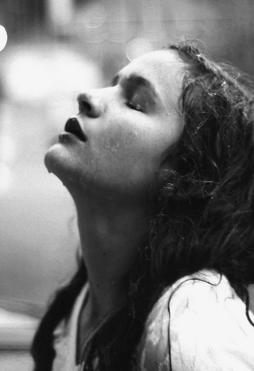 Heaven knows we need never be ashamed of our tears, for they are rain upon the blinding dust of earth, overlying our hard hearts. I was better after I had cried... more sorry, more aware of my own ingratitude, more gentle.  ~ Charles Dickens   Great Expectations (Image via Lauren Kristin)