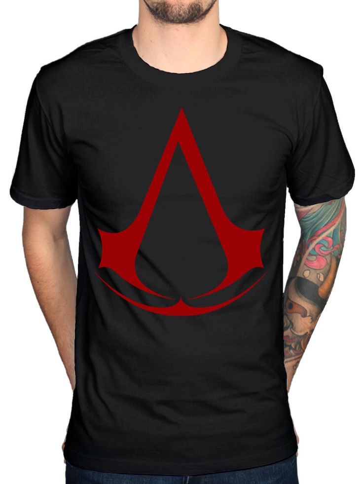 >> Click to Buy << Official Mens Assassins Creed Logo Red T-Shirt Syndicate Rogue Identity Pirates Brand Cotton Men Clothing Male Slim Fit T Shirt #Affiliate