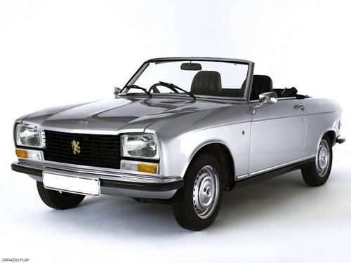 Peugeot 304 S Cabriolet 1974.