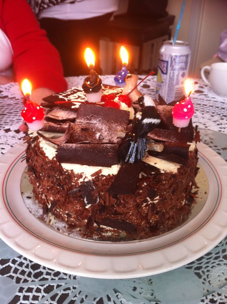 Egon's Black Forest Cake.