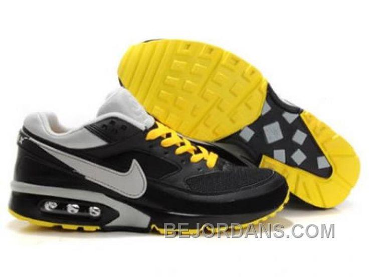mens nike air max bw all yellow