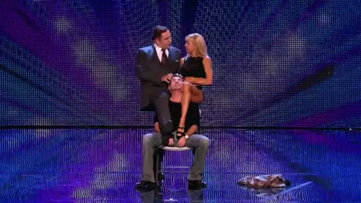 First time in 7 Years Simon Cowell has been on the stage of Britain's Go...
