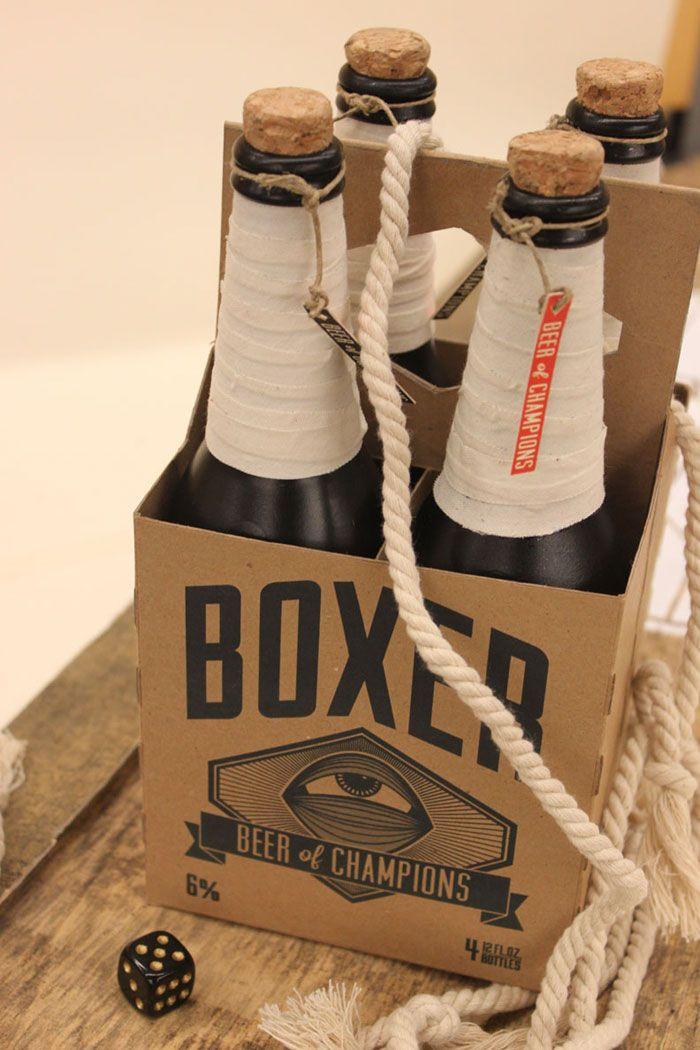 Boxer Lager: Design Graphics Art Packaging, Boxer Lager, Beer, Package Design, Beer Packaging, Packaging Design, Boxers, Bottle, Boxer Beer