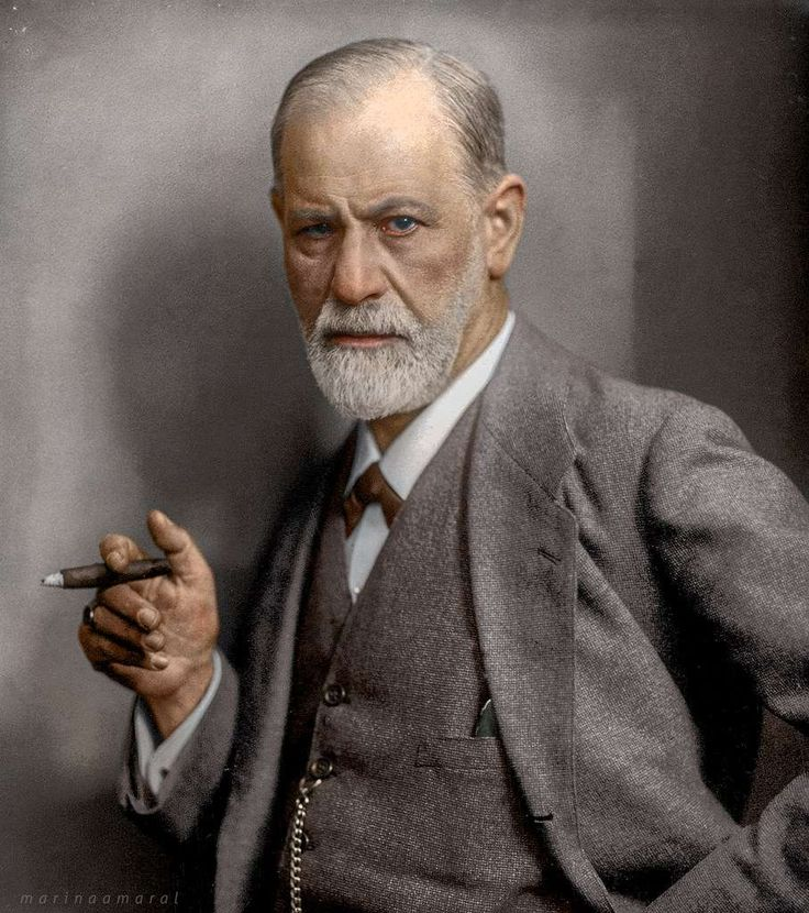 Sigmund Freud Photo: Marina Amaral / Www.marinamaral.com